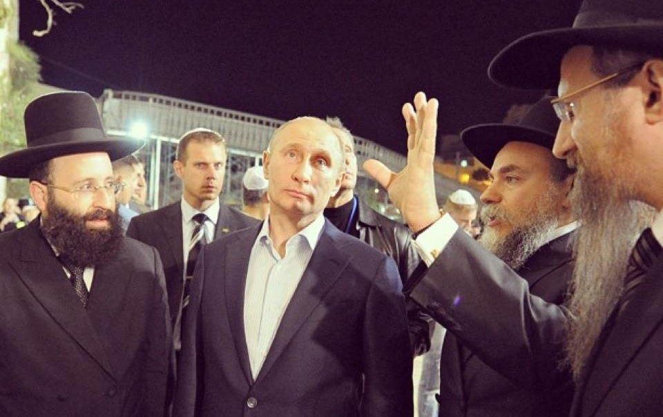 Putin's visit to Israel accompanied by the FJC